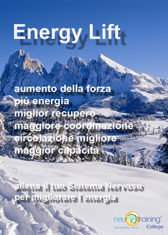 ENERGY LIFT / Aumentare l'Energia