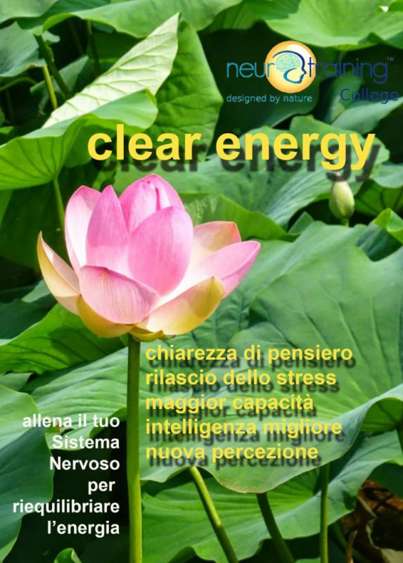CLEAR ENERGY / Energia e Chiarezza